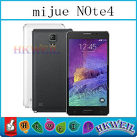 Mijue Note4 N910 Note 4 MTK6582 Quad Core Cell Phone 5. 5Inch...
