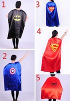 The Avengers Superman batman Superhero Cape 5 Styles 90cm 11...