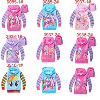 2015 my little pony Girls NEW Hoodies & Sweatshirts Hooded J...