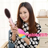 Straight Hair Comb Straightening With LCD Display Electric B...