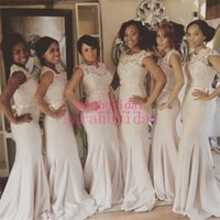 2015 Cheap Long Mermaid Bridesmaid Dresses Under 100 For Wed...