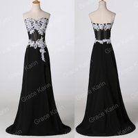 Grace Karin 2015 STOCK High Split Masquerade Ball Gown Eveni...