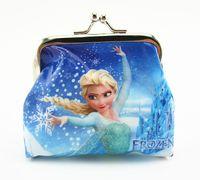 Girls Cartoon Frozen peppa Sofia Princess Coin Purse with ir...