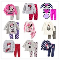9 Style Mickey Minnie Mouse Boys Girl' s Sleeping Wear N...