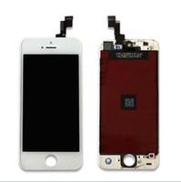 iPhone 5 5c 5s Objectif LCD Écran tactile Digitizer Assemblée de remplacement pour iPhone 5S DHL gratuitement