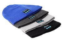 Warm Beanie Hat Wireless Bluetooth Smart Cap Headphone Heads...
