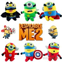 EMS Free 6inch Despicable me The Avengers Plush dolls plush ...