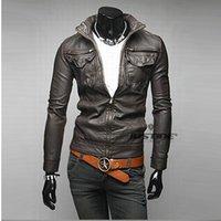 Fashion Designer Jackets Men Leather Jackets Mans waistcoat ...