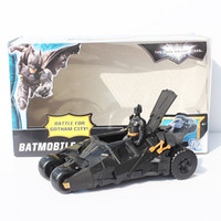 "BATMOBILE TUMBLER with 3. 75"" Batman figure BATMAN VEHIC..."