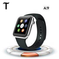 Новый SmartWatch A9 Bluetooth смарт-часы для Apple, iPhone Samsung Android телефон Relógio Inteligente Релох смартфон часы