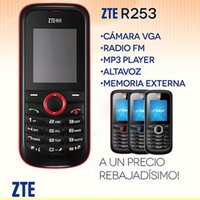 ZTE R253 Dual Band Cell Phone With 1. 8Inch Screen GSM Mobile...