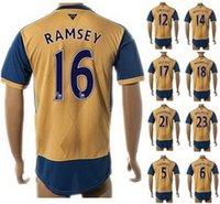 15- 16 New season Customized 16# RAMSEY Soccer Jerseys, Thai ...