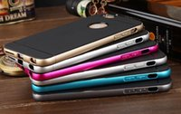 New Arrival 2 in 1 TPU back cover with Aluminum Metal Frame ...