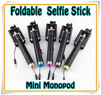 NEWEST Foldable Wired Monopod Extendable All- in- One mini Sel...