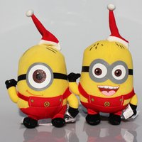 "Despicable Me plush Red Minion 6"" christmas minions Plu..."