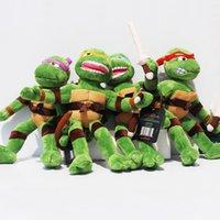28cm TMNT Teenage Mutant Ninja Turtles Plush Toys Classic do...