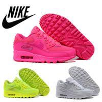 Nike Air Max 90 Women (GS) Hyper Pink Vivid Pink Women Runin...