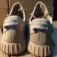New Brand Men Women West 350 Boost Running Shoes Classic pir...