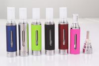 МТ3 Clearomizer 2,4 мл eVod BCC МТ3 Atomizer Электронная сигарета REBUILDABLE Форсунки нижняя катушка бак картомайзером для батареи EGO EVOD
