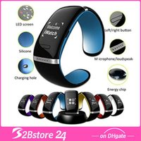 L12 Smart Watch Smart Design OLED Bluetooth 3. 0V Montre- brac...