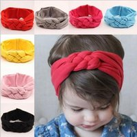 new Baby Girls Hair Braided With Children Safely Cross Knot ...