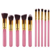 Professional 10pcs set Foundation Makeup Brushes Eyeliner Br...