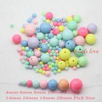Pick Size 4. 6. 8. 10. 12. 14. 16. 18 20mm Mixed Gumball Bubblegum ...