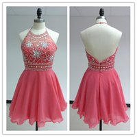 2015 Real Pictures Homecoming Dresses with Rhinestone Crysta...