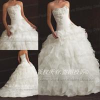 New Arrival Elegant Wedding Dresses Sleeveless Sweetheart Fl...