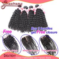 Hot Sale!!!Buy 4pcs Virgin Brazilian Bundles Curly Hair Get ...