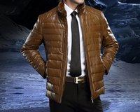 New Winter Warm Fur collar Thicken duck down Jackets for men...