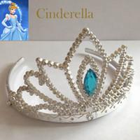 Children' s birthday crown new Cinderella crown Children...