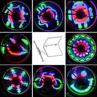 48 LED RGB 48 Modi raggio Acqua Luce Resistente Anti-shock programmabile Custom Bike rotella di bicicletta di colore chiaro Modifica Y0522