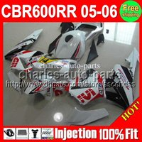 New red 100% Injection+ 7gifts For HONDA CBR600RR F5 05 06 CB...