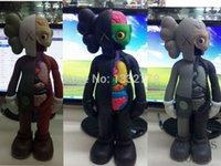 Оптово-Бесплатная доставка Поддельные KAWS расчлененного товарища KAWS расчлененный компаньон 16 хранитель тенденцию куклы с розничной коробке