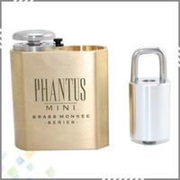 2015 Phantus Mini Box Mod Phantus Mini Mechanical Mod Gold P...