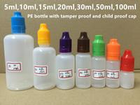 5ml 10ml 15ml 20ml 30ml 50ml 100ml PE E Liquid Bottle Empty ...
