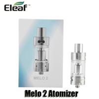 Authentic išmoka Eleaf Melo 2 atomiseur 4.5ml Top Recharge Pyrex Verre Réservoir pour 510 fil mécanique Box Mods