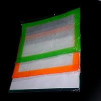 Vente en gros silicone anti-adhérent Wax Mats Pour Wax 300 * 210mm (11.81 * 8,27 pouces) BHO Dab Mat Pad