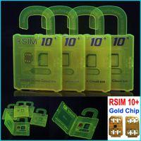 Оригинал новых Разблокировать карту R-SIM-10+ 10+ RSIM RSIM10 + разблокировать для IPhone 6s 6plus 6 5s 5c 5 4s iOS7. Х 8.X ios9 ios9.x WCDMA GSM CDMA
