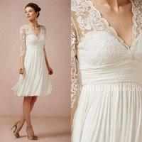Wholesale Knee Length Wedding Dresses - Buy Cheap Knee Length ...