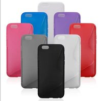 S Line Slim Soft TPU Gel Cover Case For iPhone 6 4. 7' &#...