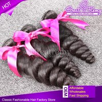 7A100% Malaysian Hair Bundles 3pcs lot Remy Human Hair Weave...