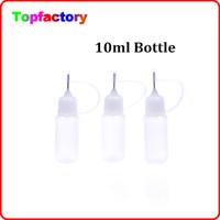 Más barato Precio Empty Bottle 10ml botella vacía para Botellas botella cigarrillo Aguja E prueba de niños Cap plástico cuentagotas E Botella líquido de la botella de aceite