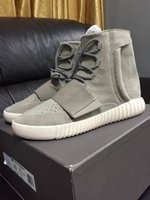 Brand New Mens Shoes Kanye West 750 Boost Athletic Boots Ank...