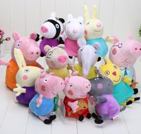 30CM 19CM New Pink pig series Sister Pig Family and 8 Pig&#0...