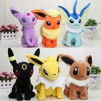 12inch 30cm Plush toys Pikachu dolls Jolteon Umbreon Flareon...