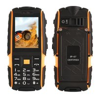 "NO. 1 A9 Strong Three Tough Rugged Phone 2. 4"" IP67 Water..."