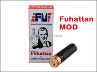 Fuhattan Механические тела Mod AmeraClone Технологии для 18650 18350 E сигарета аккумулятор как Manhattan Mod для Aspire Nautilus Atlantis танк