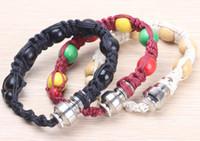 Pipes Bracelet furtif tuyaux Smokewear Bracelet Stash Bracelet Tuyau Herbal tuyaux Portable Herbal vaporisateur poignet Narguilé Cliquez N Vape